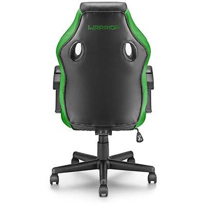 Cadeira Gamer Warrior Tongea preta e verde GA160 Warrior CX 1 UN