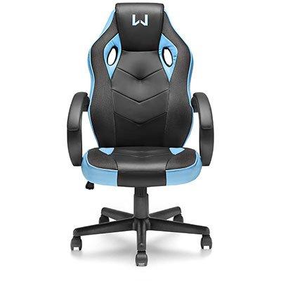 Cadeira Gamer Warrior Tongea preta e azul GA161 Warrior CX 1 UN
