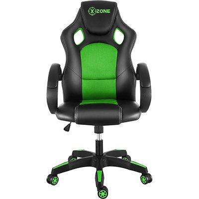 Cadeira Gamer X-Zone Basic preto e verde CGR-02 X-zone CX 1 UN