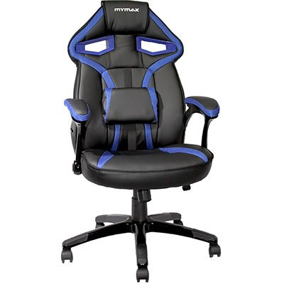 Cadeira Gamer MX1 preta e azul MGCH-8131/ Mymax CX 1 UN