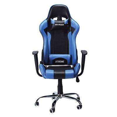 Cadeira Gamer MX7 preta e azul MGCH-002/B Mymax CX 1 UN