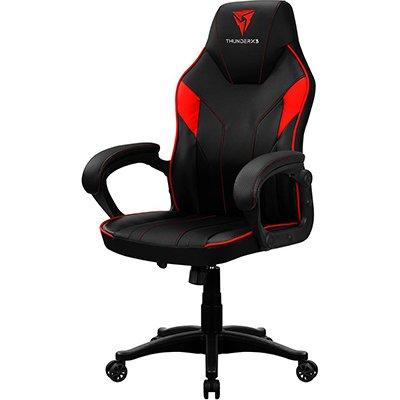 Cadeira Gamer preta e vermelho EC1 67996 Thunderx3 PT 1 UN