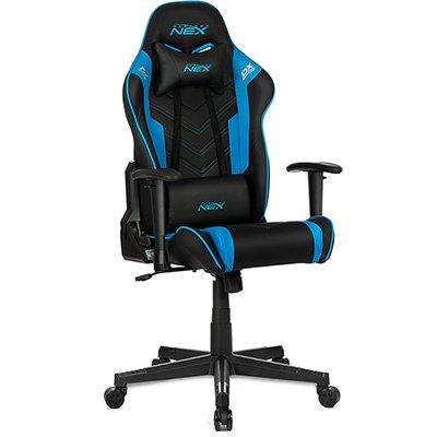 Cadeira Gamer DXRacer Nex preta/azul OK134/NB DXRacer CX 1 UN