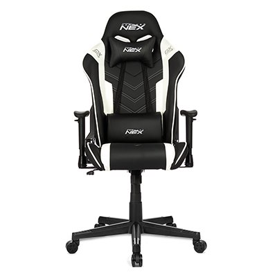 Cadeira Gamer DXRacer Nex preta/branco OK134/NW DXRacer CX 1 UN