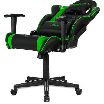 Cadeira Gamer DXRacer Nex preta/verde OK134/NE DXRacer CX 1 UN