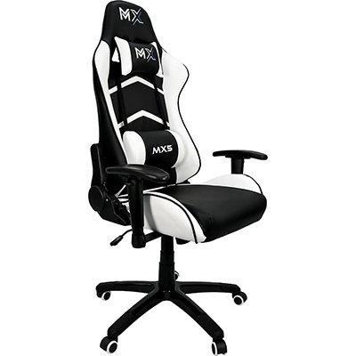 Cadeira Gamer MX5 preto e branco MGCH-MX5/WH Mymax CX 1 UN