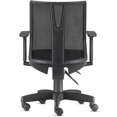 Cadeira giratória Addit Diretor c/ encosto em tela Frisokar SA CX 1 UN
