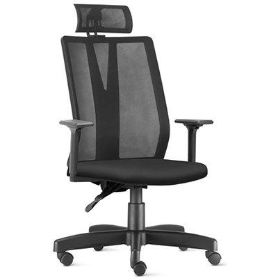 Cadeira giratória Addit Presidente em tela Frisokar SA CX 1 UN