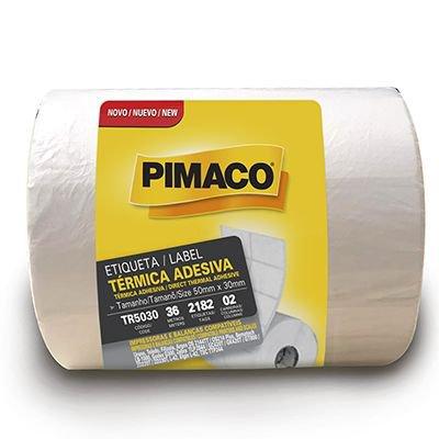Etiqueta térmica para impressora de barras 50x30mm Rr Etiqueta PT 1 UN