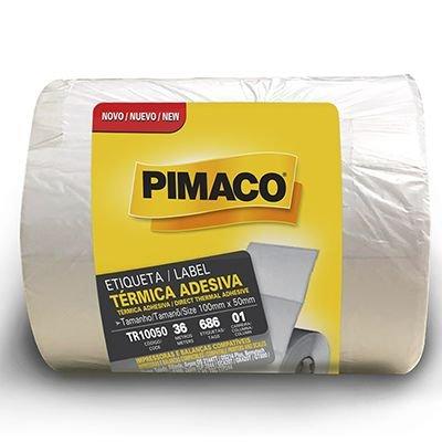 Etiqueta térmica para impressora de barras 100x50mm Rr Etiqueta PT 1 UN