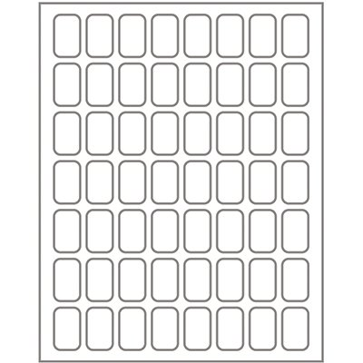 Etiqueta adesiva branca multiuso 8,0x13mm Q-813 Pimaco PT 280 UN