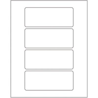 Etiqueta adesiva branca multiuso 22x55mm Q-2050 Pimaco PT 20 UN