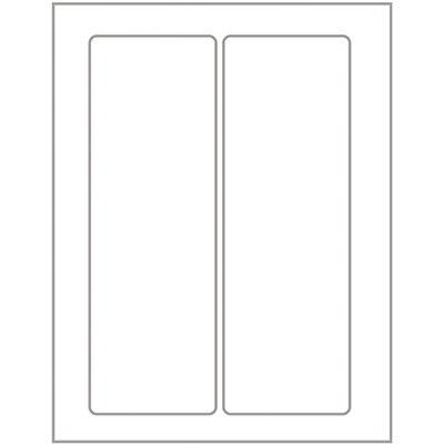 Etiqueta adesiva branca multiuso 35x105mm Q-35105 Pimaco PT 10 UN