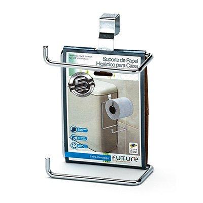Suporte de papel higiênico duplo p/ caixa acoplada 1094 Future BT 1 UN