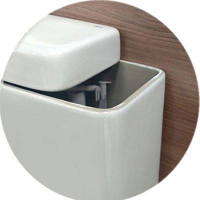Suporte de papel higiênico p/ caixa acoplada duplo 261 Duler PT 1 UN
