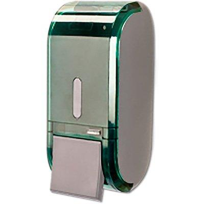 Saboneteira c/reservatório verde 400ml C19303 Premisse CX 1 UN