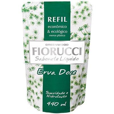 Sabonete líquido refil erva doce 440ml 8101 Fiorucci PT 1 UN
