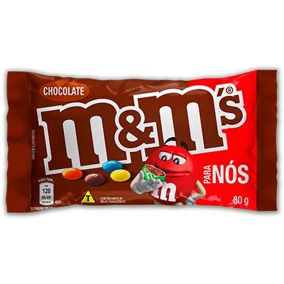 M&Ms ao leite 80g Mars Brasil PT 1 UN