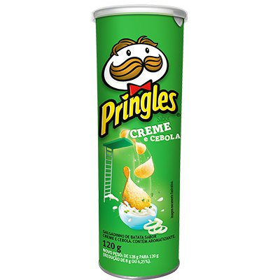Batata Pringles lata 120g creme e cebola Pringles PT 1 UN