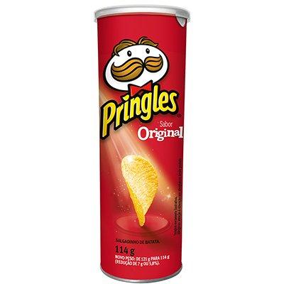 Batata Pringles lata 114g original Pringles PT 1 UN