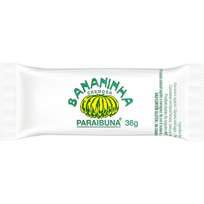 Doce de banana bananinha com açucar 36g 011 Paraibuna PT 1 UN