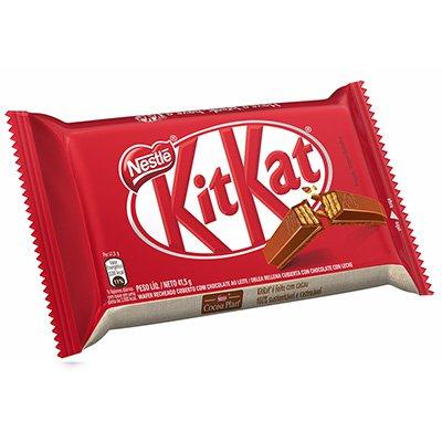 Chocolate Kit Kat 41,5g 42557 Nestle Brasil PT 1 UN