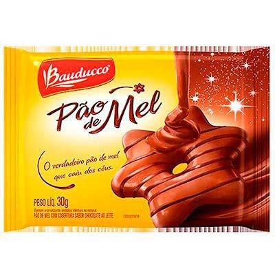 Pão de mel 30g 5708 Bauducco PT 1 UN