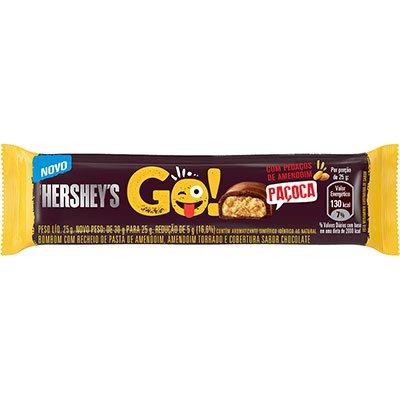 Chocolate Paçoca 25g 040020 Hershey PT 1 UN