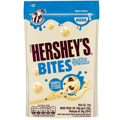 Chocolate Bites cookies 120g 040032 Hershey PT 1 UN