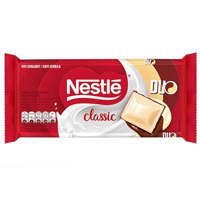 Chocolate ao leite Duo Classic 90g Nestle Brasil PT 1 UN