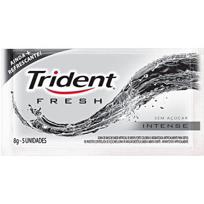 Goma de mascar fresh intense Trident PT 1 UN