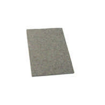 Feltro adesivo cinza retangular 75x100x3mm 2628 Engedom PT 6 UN