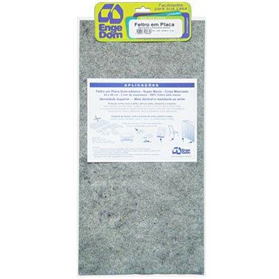 Feltro adesivo cinza 240x480x3 2970 Engedom PT 1 RL