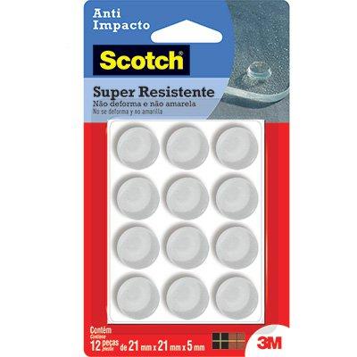 Protetor auto adesivo PU transparente 21x5mm Scotch 3M BT 12 UN