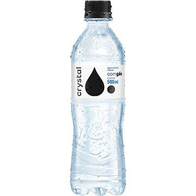Água Mineral com gás 500ml Crystal EB 1 UN