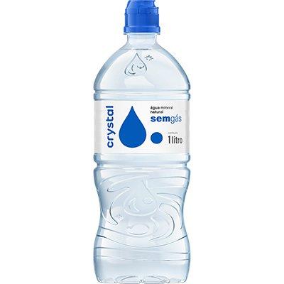 Água Mineral sem gás 1L Crystal EB 1 UN