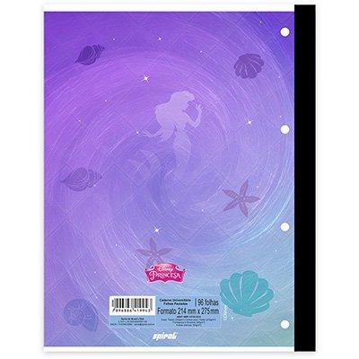 Caderno univ.1x1 96fls coladas Wireless Prince. 20401 Spiral Pn PT 1 UN