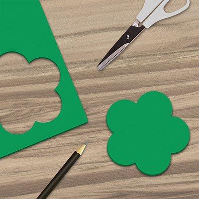 Folha em EVA 600x400x2mm verde bandeira 01 Spiral UN 1 UN