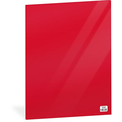 Folha em EVA 600x400x2mm vermelho 01 Spiral UN 1 UN