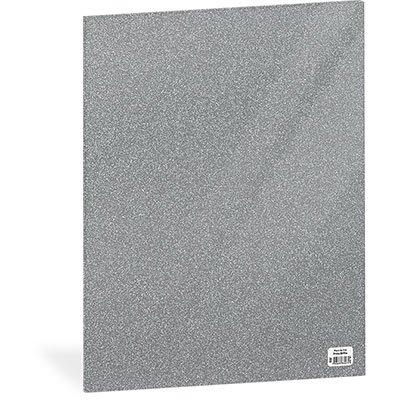 Folha em EVA 600x400x2mm prata c/ brilho 01 Spiral UN 1 UN