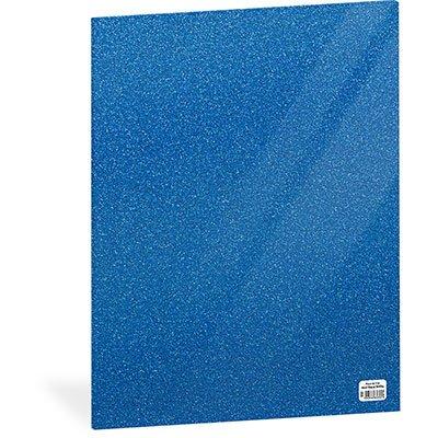 Folha em EVA 600x400x2mm azul royal c/ brilho 01 Spiral UN 1 UN
