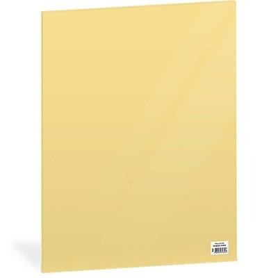 Folha em EVA 600x400x2mm amarelo pastel PL4060AP-1 Spiral UN 1 UN