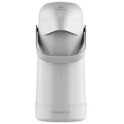 Garrafa térmica Magic Pump 500ml branca (pressão) 8702 Termolar CX 1 UN