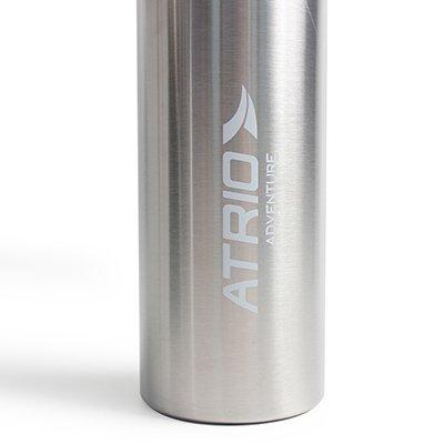 Garrafa térmica atrio adventure 600ml prata ES316 Multilaser CX 1 UN