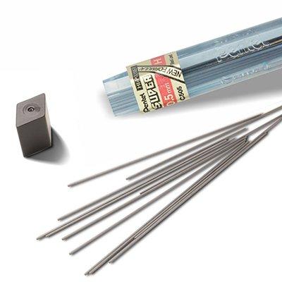 Minas grafite 0,7mm HB (2 tubos c/12un) sm/c507-hb Pentel BT 1 UN