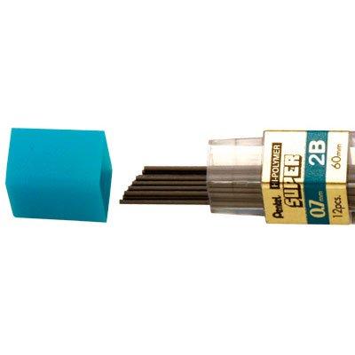 Minas grafite 0,7mm 2B (2 tubos c/12un) SM/50-2B Pentel BT 1 UN