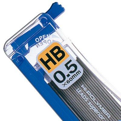 Minas grafite 0,5mm HB (tubo c/40un) SM/C255HB Pentel BT 1 UN