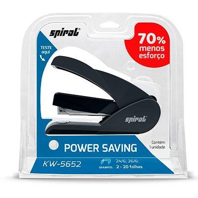 Grampeador Power Saver 26/6 20fls KW5652 Spiral CX 1 UN
