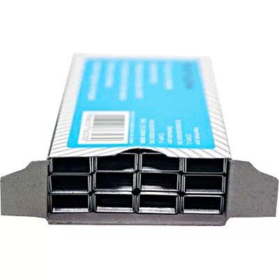 Grampo p/grampeador 26/6 galvanizado 63230 Spiral Grampos CX 5000 UN