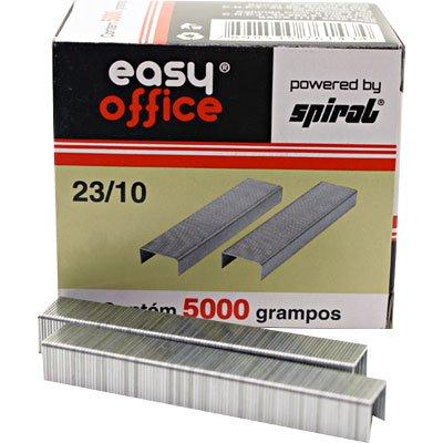 Grampo p/grampeador 23/10 galvanizado Easy Office CX 5000 UN